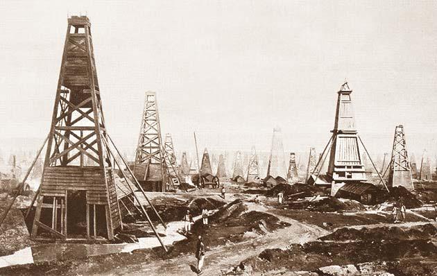 История применения нефти и газа