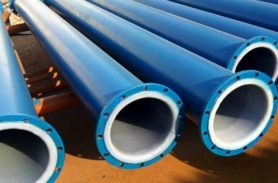Pipes and rolled metal products