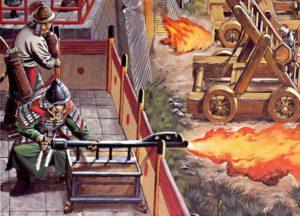 Китайский греческий огонь